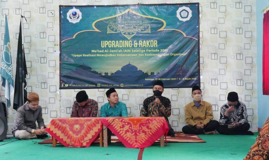 Rakor Dewan Asatidz Ma'had Semester Genap Tahun 2021