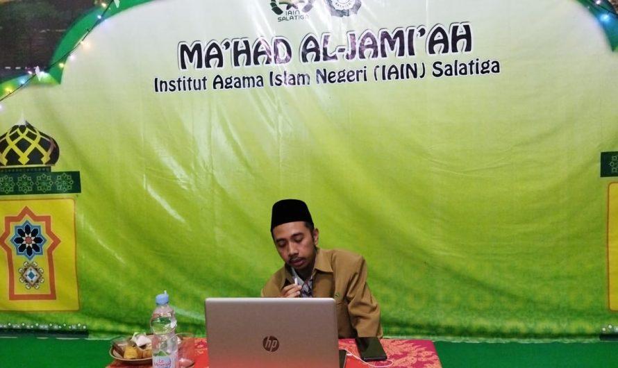 Peringatan Malam Tahun Baru Islam 1443 H. Ma'had Al-Jami'ah