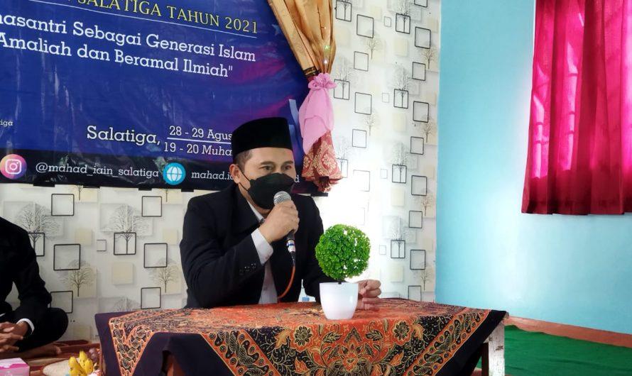 121 Mahasantri Baru Mengikuti Masa Orientasi Santri Ma'had Al-Jami'ah IAIN Salatiga Tahun 2021